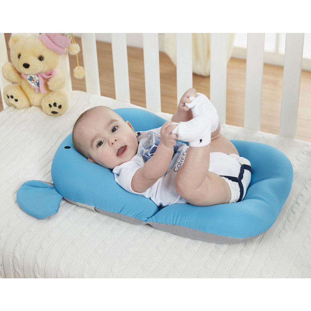 Grey Monkey Without Hook Moonvvin Floating Soft Baby Bath Pillow /& Lounger Newborn Pad Tub Cushion Baby Bather Infant Bath Pad