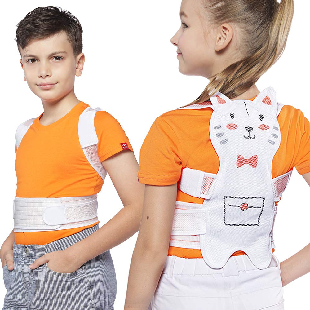 Posture Corrector for Kids Back Braces for Girls Teens - Back Spinal Support - Small by ROSERAIN