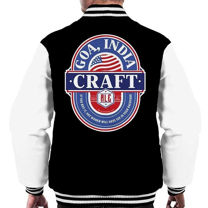 Goa India Craft Ale Mens Varsity Jacket: Amazon.es: Ropa y ...
