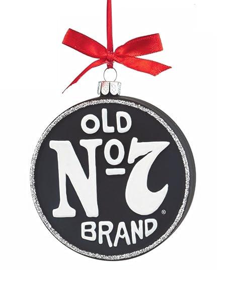 "Department 56 Jack Daniel's ""No 7"" Glass Disc Christmas Ornament  ... - Amazon.com: Department 56 Jack Daniel's"