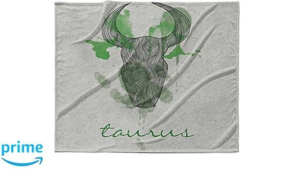40 x 30 KESS InHouse Belinda Gillies Taurus Fleece Baby Blanket