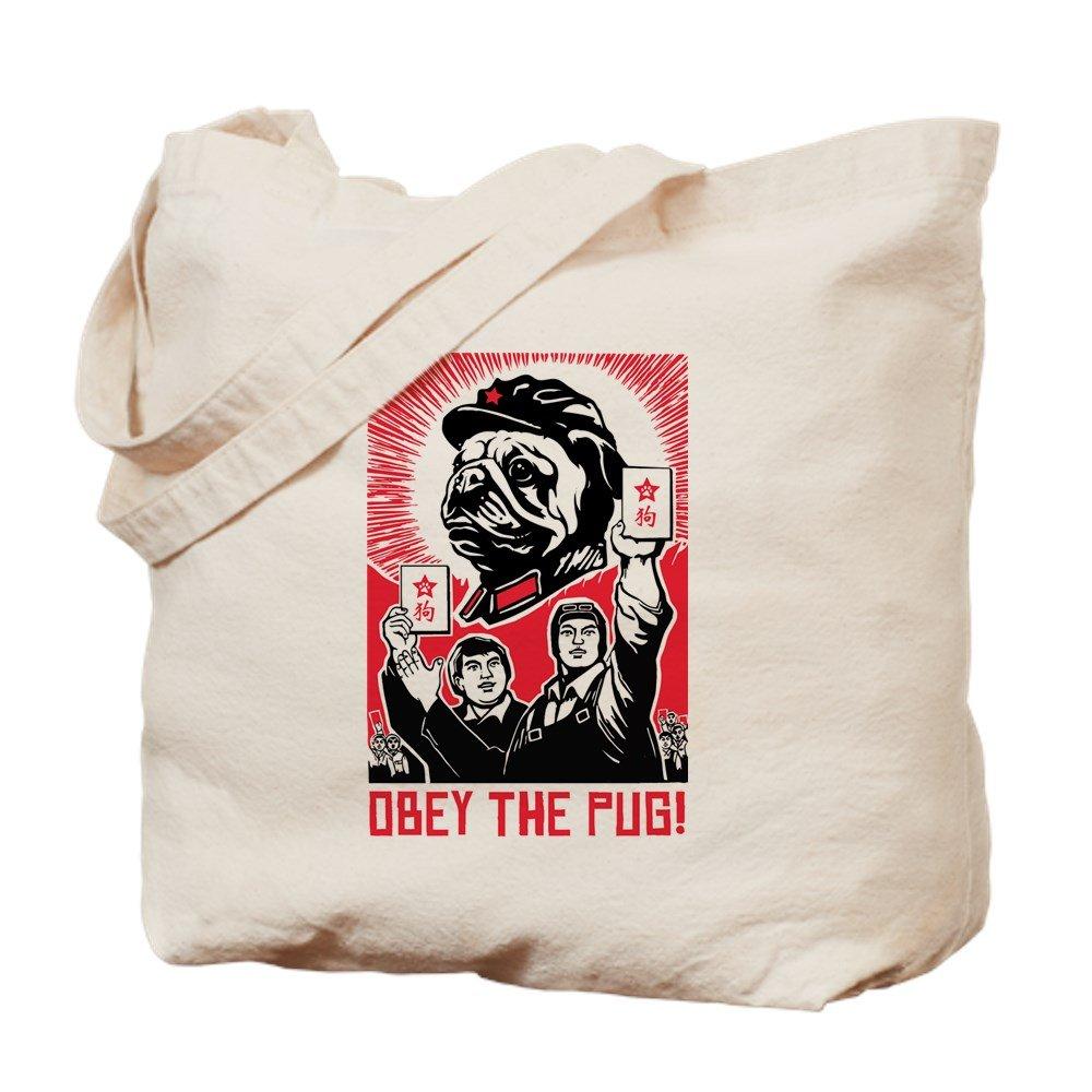 CafePress – Follow議長パグ – Propaganda – ナチュラルキャンバストートバッグ、布ショッピングバッグ B00WJEHDGE