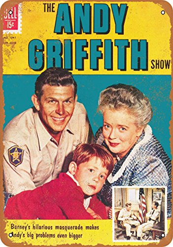 Wall-Color 9 x 12 METAL SIGN - Andy Griffith - Vintage Look - Griffith Sign Tin Andy