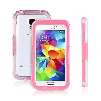 super popular 65e76 2e8d0 Amazon.com: Galaxy S5 Waterproof Case, Amever S5 Waterproof Case ...