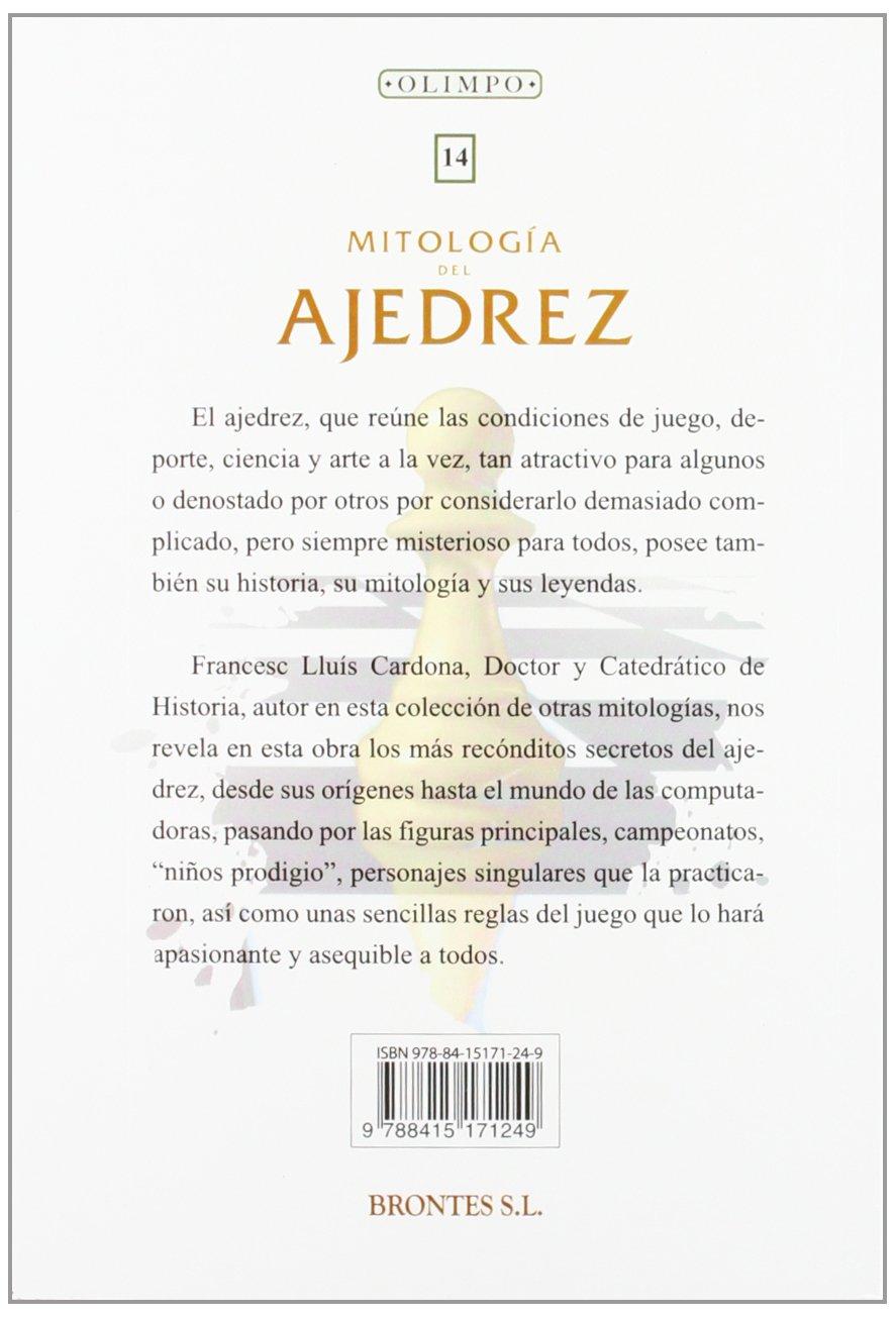 Mitología Del Ajedrez: Amazon.es: Cardona, Francesc: Libros
