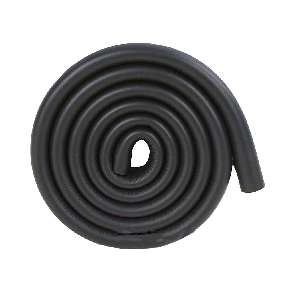 2x2/13ft Wash Sink Edge Guard Strips Black Corner Protection Cushion for Bedroom Furniture Kitchen Units