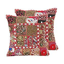 Beads Sequin Patchwork Cushion Covers