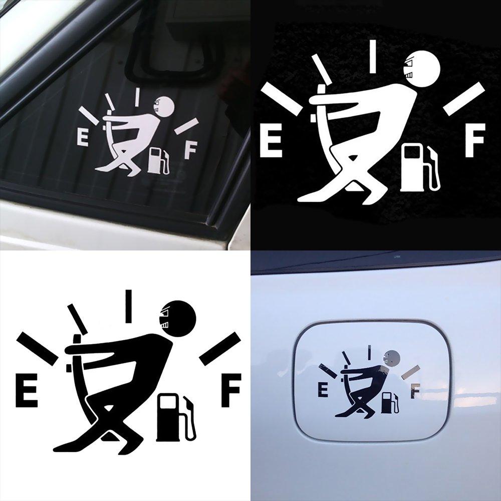 Walmeck Car Styling Sticker Adesivo Riflettente carenza di Olio Rimovibile Impermeabile