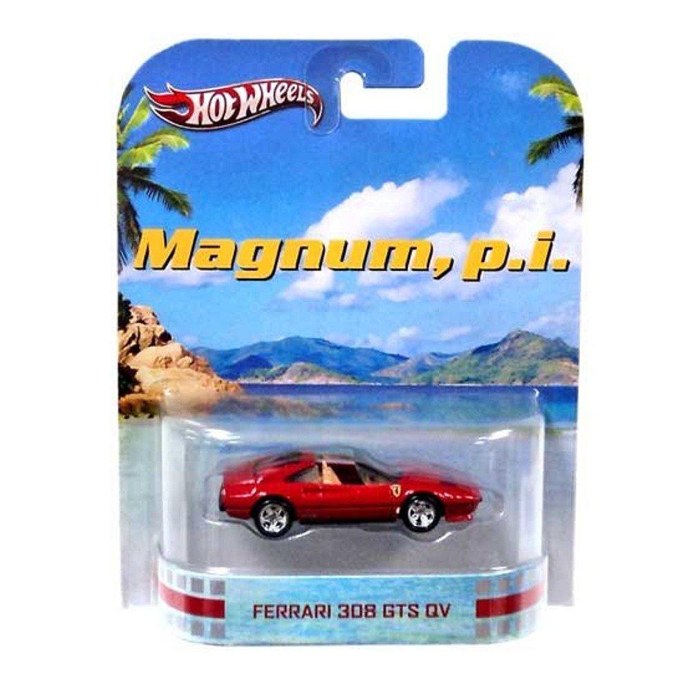 Hot Wheels Magnum, P.I. Ferrari 308 GTS QV Die Cast Car B00DBDMY3Y