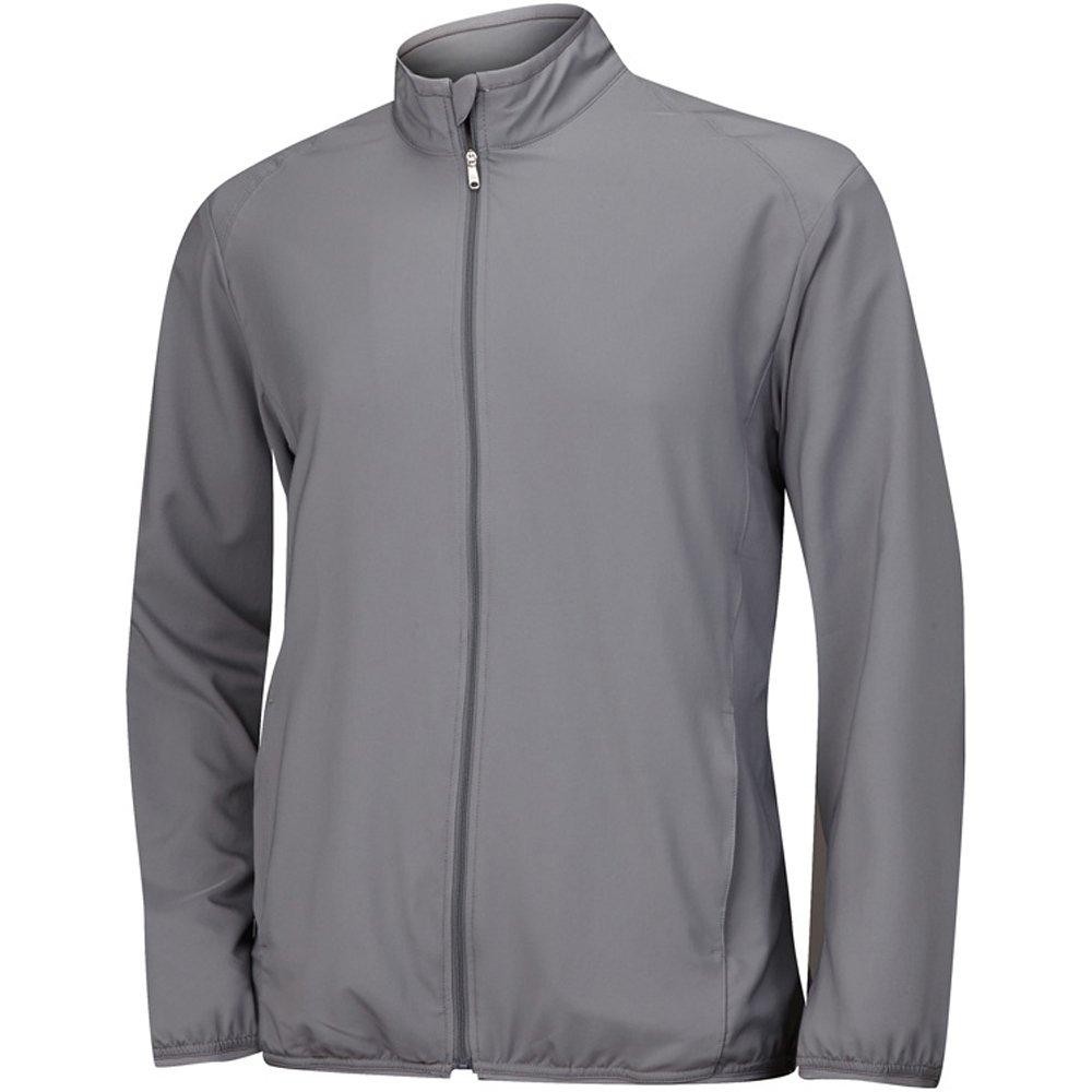 adidas Golf Men's Essential Solid Wind Jacket, Vista Grey, XX-Large by adidas