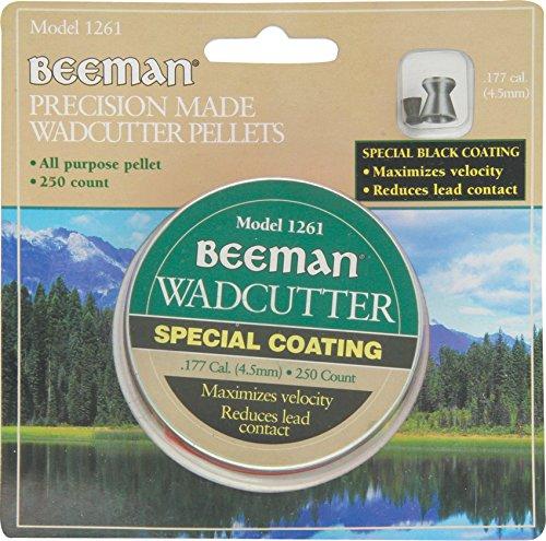 (Beeman .177 Cal, 7.8 Grains, Wadcutter, Coated, 250ct)