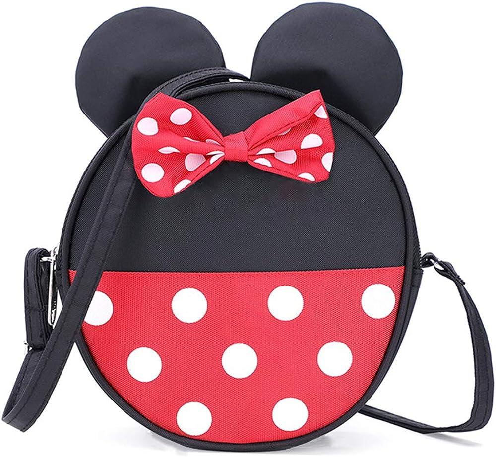 Amazon.com: Cute Little Girls Crossbody Purse Toddler Minnie Mouse Purse  Wallet Disney Crossbody Bag Handbags: Shoes
