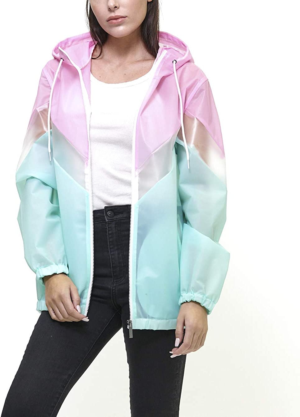 80s Windbreakers, Jackets, Coats Members Only Womens Nautical Light Weight Jacket Zipper with Hood $59.00 AT vintagedancer.com