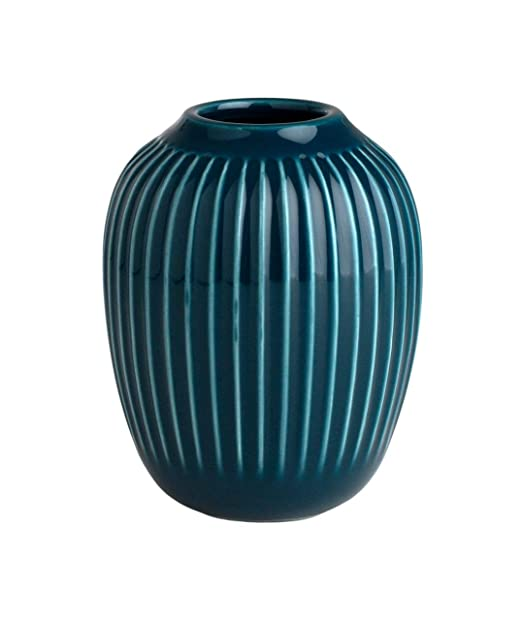 Kähler Hammershøi Vase Petrol Mini: Amazon.es: Hogar