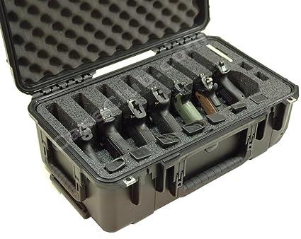 Amazon.com: Caso Club impermeable 7 Pistola Case con gel de ...