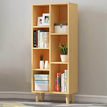 XIAOLIN Simple Bibliothèque Moderne Racks Floor-standing Style Table ...