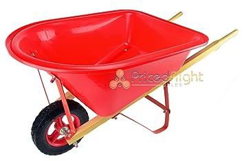 Kids Sized Mini Wheelbarrow Garden Cart