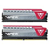 Viper Elite Series DDR4 16GB (2 x 8GB) 2800MHz Kit (Red) PVE416G280C6KRD