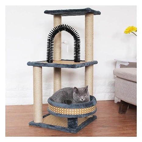 Pet supplies Árbol para Gatos Rascador con nidos, Árboles y ...