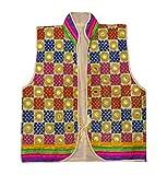 Peegli Kutch Embroidered Banjara Jacket Traditional Shrug Rajasthani Koti