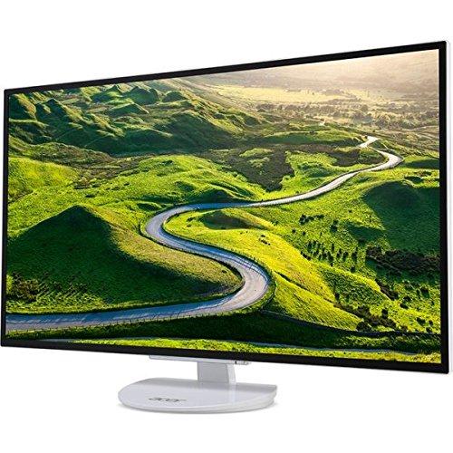 Acer 31.5型ワイド液晶ディスプレイ ER320HQwmidx(半光沢/1920x1080/IPS/250cd/1000:1/4ms/ホワイト/ミニD-Sub15ピンDVI-D24ピンHDMI/フリッカーレス/BL. B07GTNRJJQ