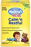 HYLANDS 4 Kids Calm 'N Restful, Yellow, 125 count