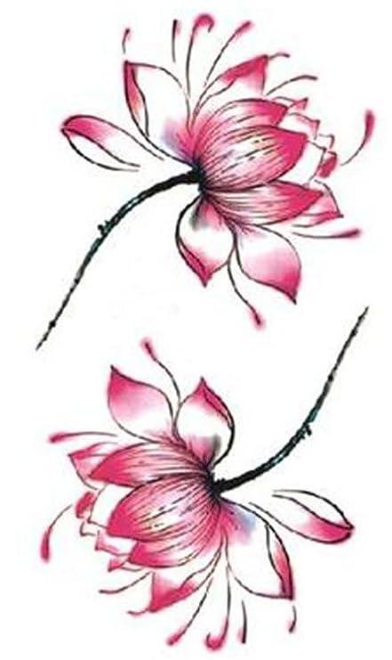 Conjunto de 5 tatuaje Hermosa Pegar Tobillo Brazo Tatuaje Pega ...