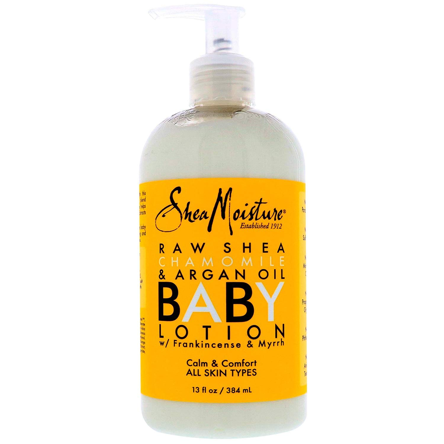 Shea Moisture Raw Shea Chamomile & Argan Oil Baby Lotion 13 oz (Pack of 2) by Shea Moisture