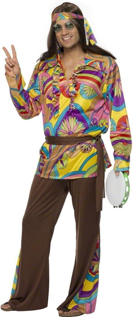 Disfraz hippie M 48/50 disfraz de hippie disfraces de flores ...