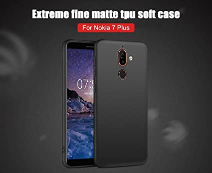 brand new bfef0 7e7da Newlike Silicone Protective and Anti Shock Proof Back Cover for Nokia 7 Plus