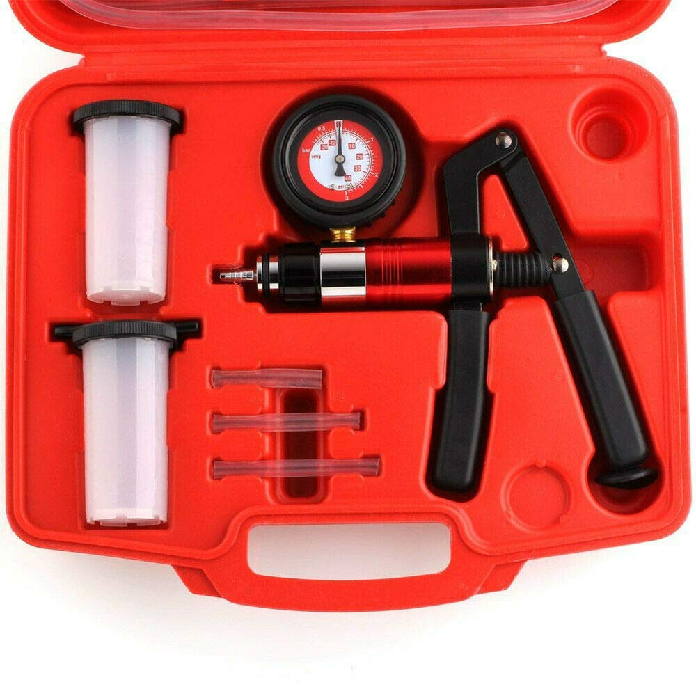 HENGMEI Bremsenentl/üfter Bremsenentl/üftungsger/ät Vakuumpumpe Vakuumtester tragbar Handheld KFZ Vakuum Tester