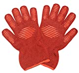 THSpow Heat Resistant Oven Gloves High