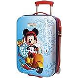 Disney Mickey Vespa Valigia per bambini, 50 cm, 26 liters, Multicolore (Multicolor)