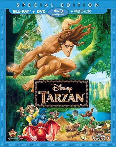 Amazon Com Tarzan Blu Ray Tony Goldwyn Minnie Driver Brian