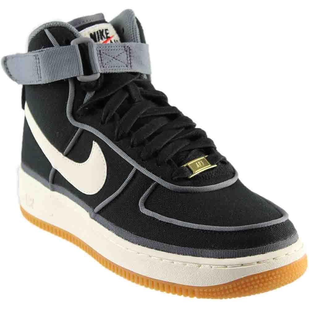 7728bfbfc11c8 Nike Kids Air Force 1 High LV8 (GS) Black/Sail-Team Orange Basketball Shoe  7 Kids US