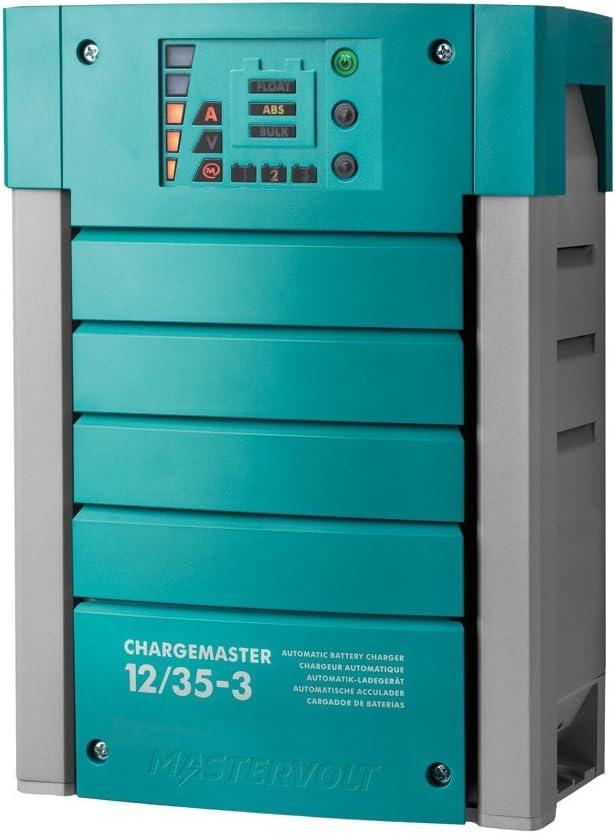 Mastervolt 44010350 ChargeMaster Cargador Baterías 12 Voltios 35 Amperios y 3 Salidas