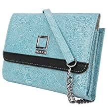 """Lencca Nikina Cross-Body Clutch Fitted for 6""""-7inch Amazon Fire Tablet"""