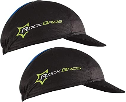RockBros Cycling Sporting Polyester Cap Hat Sunhat Suncap One Size White