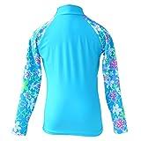 TFJH E Girls Swimsuit UPF 50+ UV Two-Piece Rash