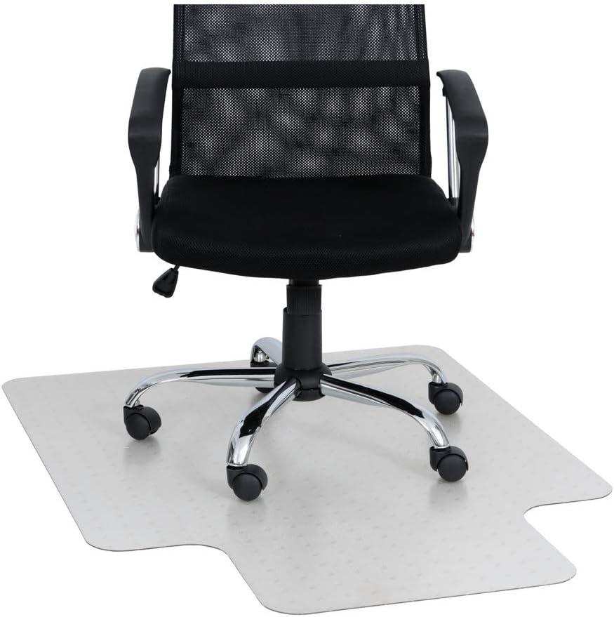 카이저 플라스틱 의자 매트 | XTRA-STRONG QUALITY | MADE-IN-GERMANY | 36X48X1 | 8(립 포함) | 저 | 중 파일 카펫 폴리 카보네이트 용