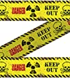 Absperrband Danger Keep Out 15m Halloween Horror Deko