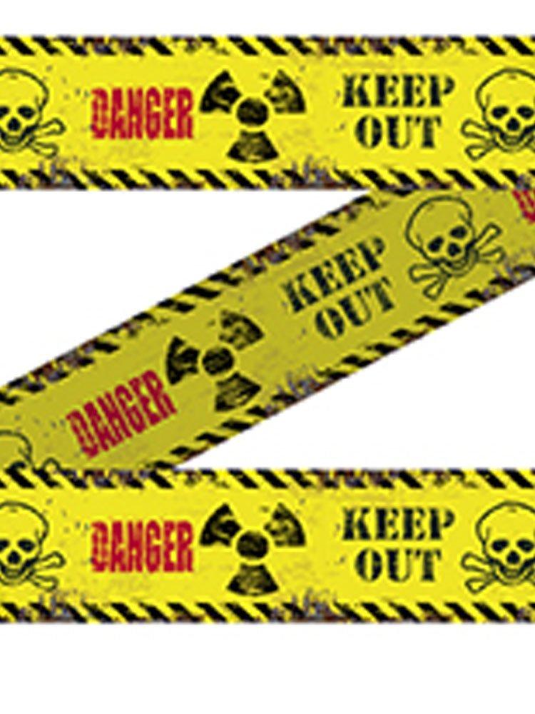 Absperrband Danger Keep Out 15m Halloween Horror Deko Folat B.V. 23666