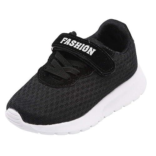 Logobeing Zapatos 3-12 Años, Zapatos Bebe Moda Zapatillas Niños Chicos Niñas Casuales Zapatillas