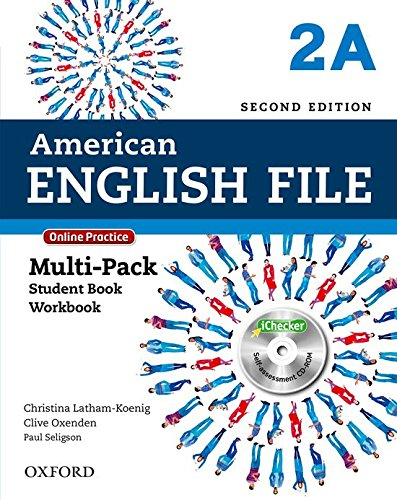 American English File: Am English File 2A Multipk W Online Pract And Ichecker 2Ed