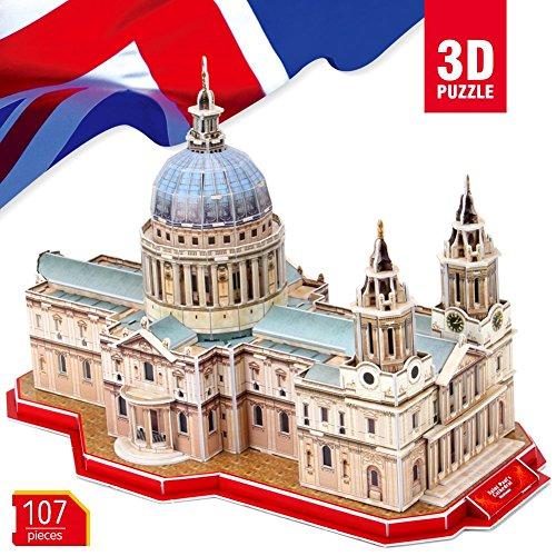 Cubicfun ST Paul de Cathédrale de Londres Royaume-Uni 3d puzzle