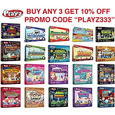 Playz My First Coding & Computer Science Kit - Learn About Binary Codes, Encryption, Algorithms & Pixelation Through Fun Puzzling Activities Without Using a Computer for Boys, Girls, Teenagers, Kids: Toys & Games