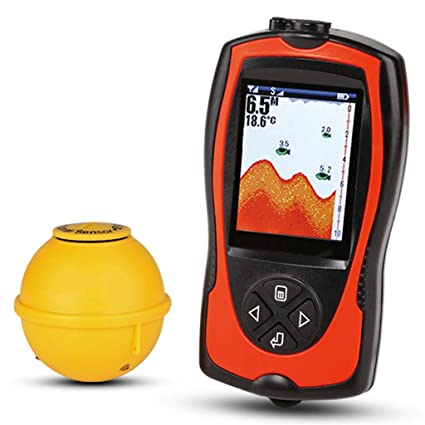 Amazon Com Fish Finder Wireless Charging Waterproof Color