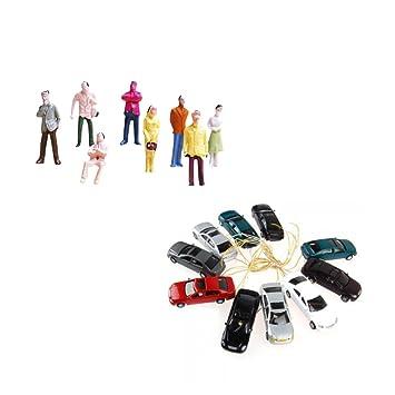 Mangas 100pcs Baoblaze Modèles Figurines Jouets De Personnages USMqpzV