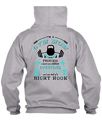 95cc219f2 Amazon.com: I'm A Gym Mom Hoodies, I Love Gym T Shirt: Clothing