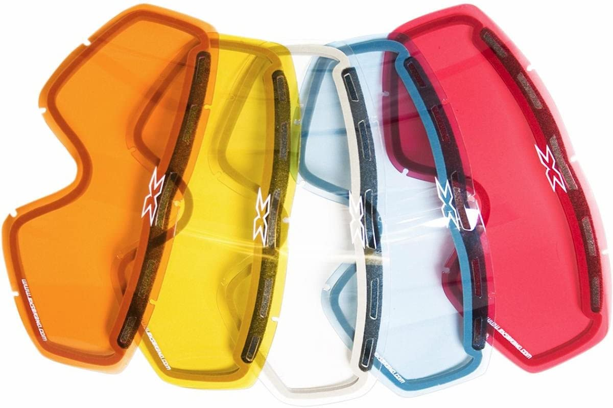 EKS BRAND Unisex-Adult Enduro Dual-Pane GOX MX Motorcross Goggle Replacement Lens Blue, One Size